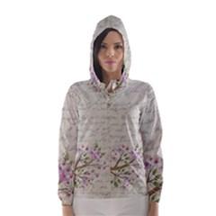 Cherry blossom Hooded Wind Breaker (Women)