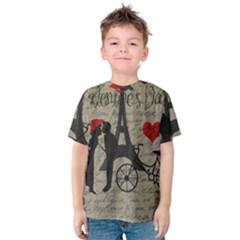 Love letter - Paris Kids  Cotton Tee