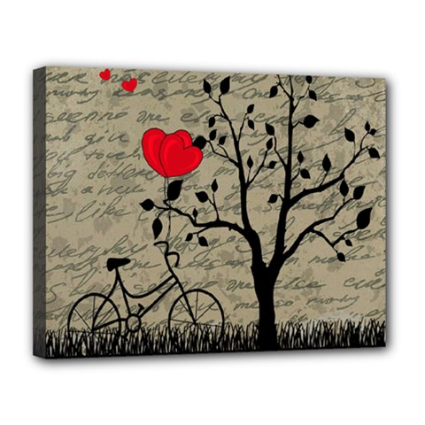 Love letter Canvas 14  x 11