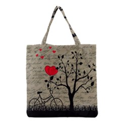 Love letter Grocery Tote Bag