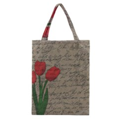 Vintage tulips Classic Tote Bag