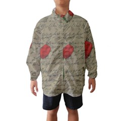 Vintage tulips Wind Breaker (Kids)