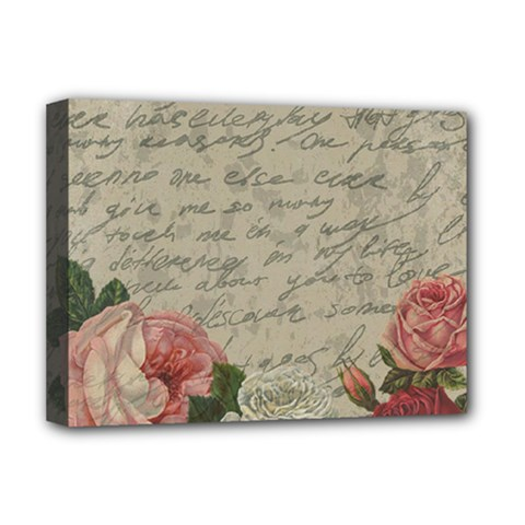 Vintage roses Deluxe Canvas 16  x 12