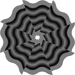 Two Layers Consisting Of Curves With Identical Inclination Patterns Folding Umbrellas