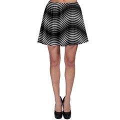 Two Layers Consisting Of Curves With Identical Inclination Patterns Skater Skirt