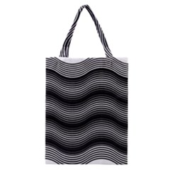 Two Layers Consisting Of Curves With Identical Inclination Patterns Classic Tote Bag