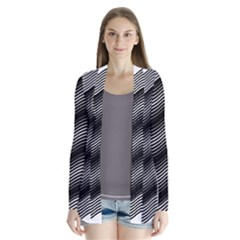 Two Layers Consisting Of Curves With Identical Inclination Patterns Cardigans