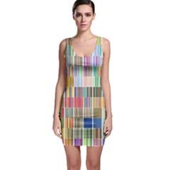 Overlays Graphicxtras Patterns Sleeveless Bodycon Dress
