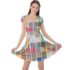 Overlays Graphicxtras Patterns Cap Sleeve Dresses