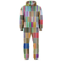 Overlays Graphicxtras Patterns Hooded Jumpsuit (Men)