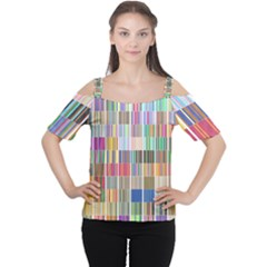 Overlays Graphicxtras Patterns Women s Cutout Shoulder Tee