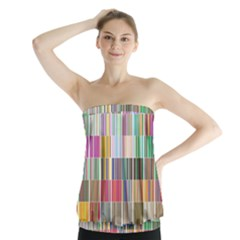 Overlays Graphicxtras Patterns Strapless Top