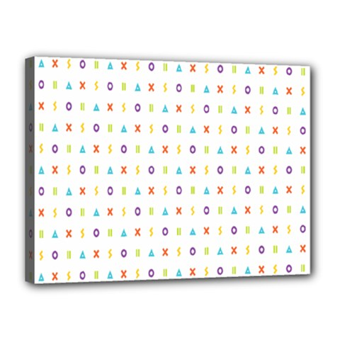 Sign Pattern Canvas 16  X 12