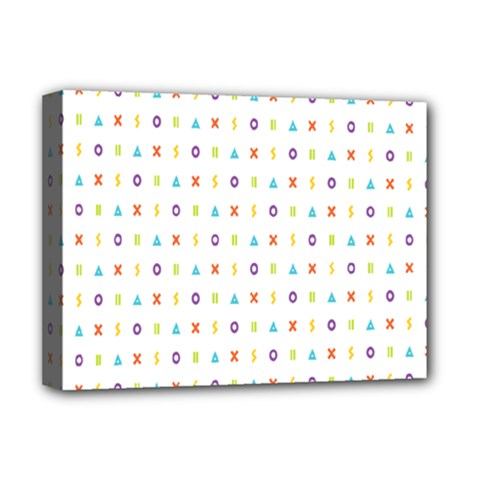 Sign Pattern Deluxe Canvas 16  X 12