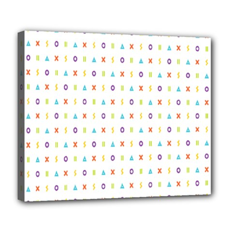 Sign Pattern Deluxe Canvas 24  X 20