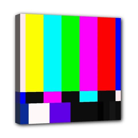 Color Bars & Tones Mini Canvas 8  X 8