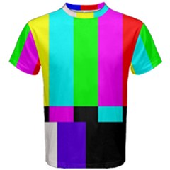 Color Bars & Tones Men s Cotton Tee