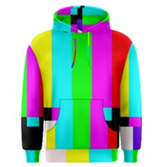 Color Bars & Tones Men s Pullover Hoodie