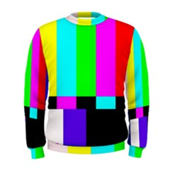 Color Bars & Tones Men s Sweatshirt