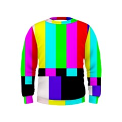 Color Bars & Tones Kids  Sweatshirt