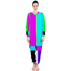 Color Bars & Tones OnePiece Jumpsuit (Ladies)