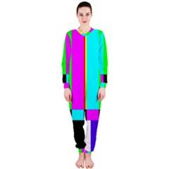 Color Bars & Tones Onepiece Jumpsuit (ladies)