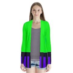 Color Bars & Tones Cardigans