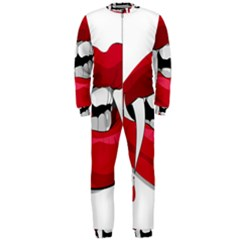 Mouth Jaw Teeth Vampire Blood OnePiece Jumpsuit (Men)