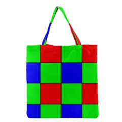 Bayer Pattern Grocery Tote Bag