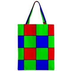 Bayer Pattern Zipper Classic Tote Bag