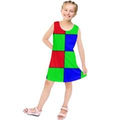 Bayer Pattern Kids  Tunic Dress