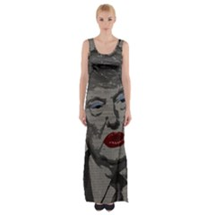 Transgender president    Maxi Thigh Split Dress