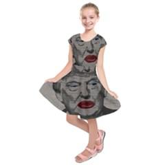 Transgender president    Kids  Short Sleeve Dress