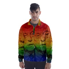 Rainbow Trump  Wind Breaker (Men)