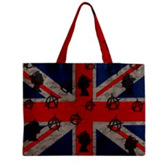 United Kingdom  Medium Zipper Tote Bag