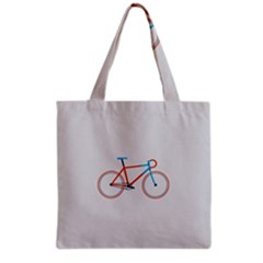 Bicycle Sports Drawing Minimalism Grocery Tote Bag