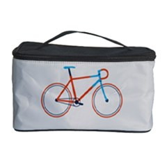 Bicycle Sports Drawing Minimalism Cosmetic Storage Case