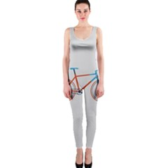Bicycle Sports Drawing Minimalism Onepiece Catsuit