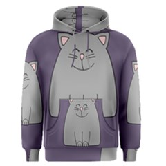 Cat Minimalism Art Vector Men s Pullover Hoodie