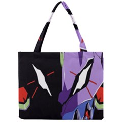 Monster Face Drawing Paint Mini Tote Bag