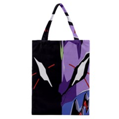 Monster Face Drawing Paint Classic Tote Bag
