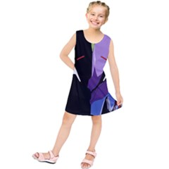 Monster Face Drawing Paint Kids  Tunic Dress
