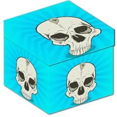 Skull Ball Line Schedule Storage Stool 12
