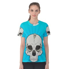 Skull Ball Line Schedule Women s Cotton Tee