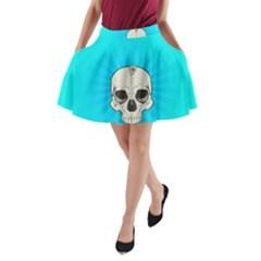 Skull Ball Line Schedule A Line Pocket Skirt