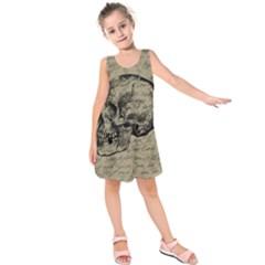 Skull Kids  Sleeveless Dress