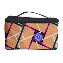 Overlaid Patterns Cosmetic Storage Case