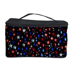 America Usa Map Stars Vector  Cosmetic Storage Case