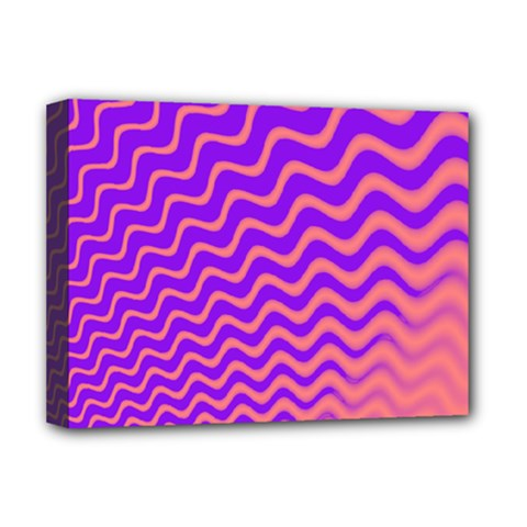 Pink And Purple Deluxe Canvas 16  x 12
