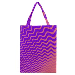 Pink And Purple Classic Tote Bag